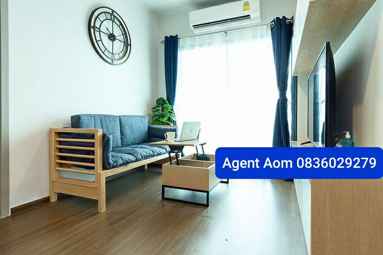 For RentCondoOnnut, Udomsuk : Urgent for rent S93, large room, high floor !! Only 23000 !!