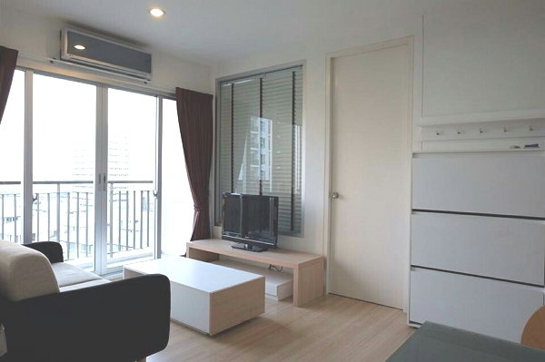 For RentCondoBangna, Lasalle, Bearing : Condo for Rent, The Parkland Srinakarin Lakeside , 1 bedroom, 35 Sq.m. with fully furnished.