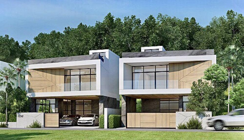 For SaleHousePhuket, Patong : New house for sale in Kathu, Phuket, free of charge, very beautiful view.