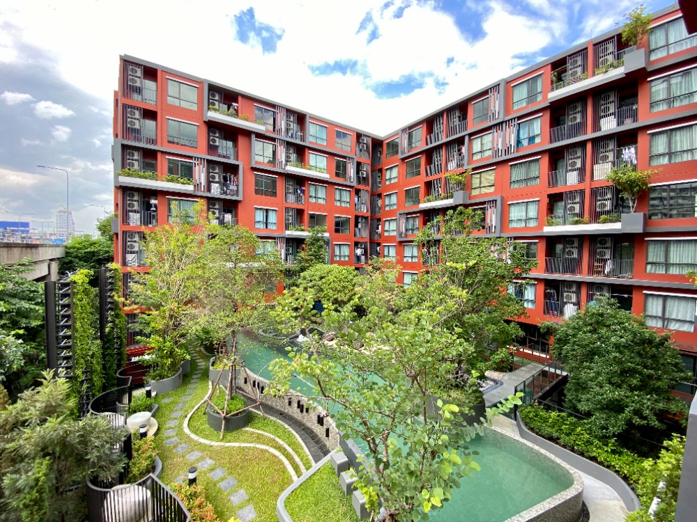 For SaleCondoRatchathewi,Phayathai : Sale !! Condo The Tree Din Daeng-Ratchaprarot, 4th floor, fully furnished, free transfer, lots of free !!