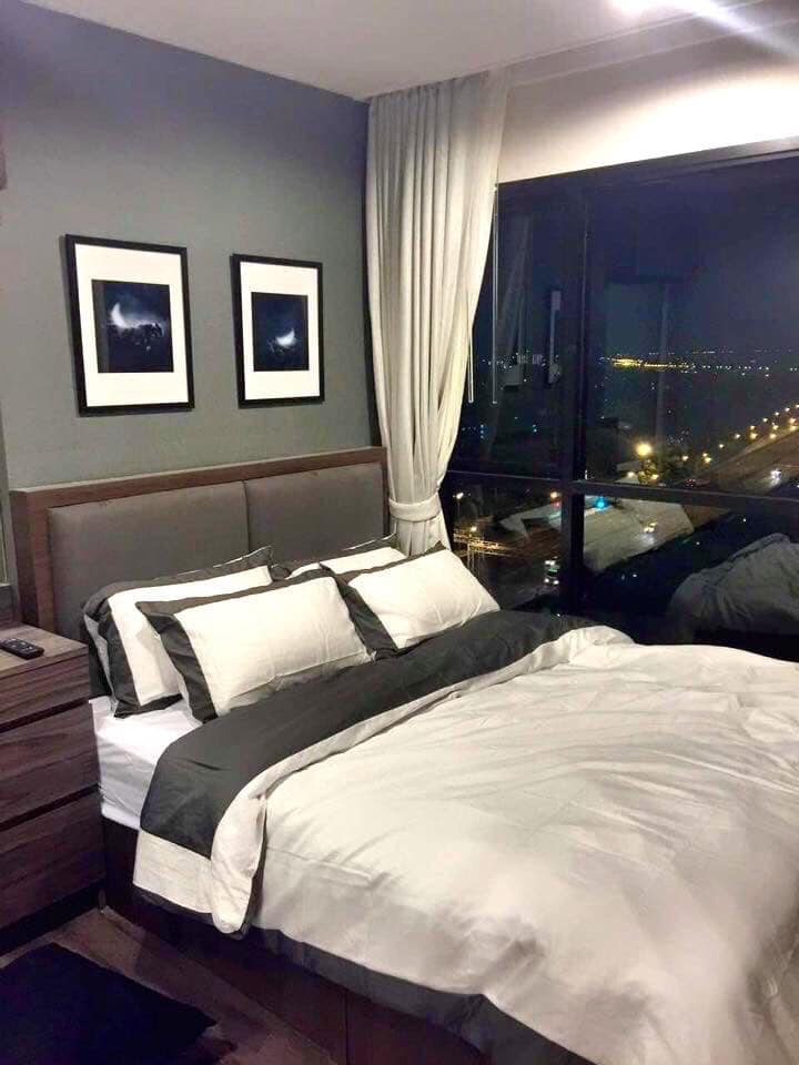 For SaleCondoOnnut, Udomsuk : Condo for sale The BASE Park East Sukhumvit 77 fully furnished. Beautifully decorated, ready to move in !!