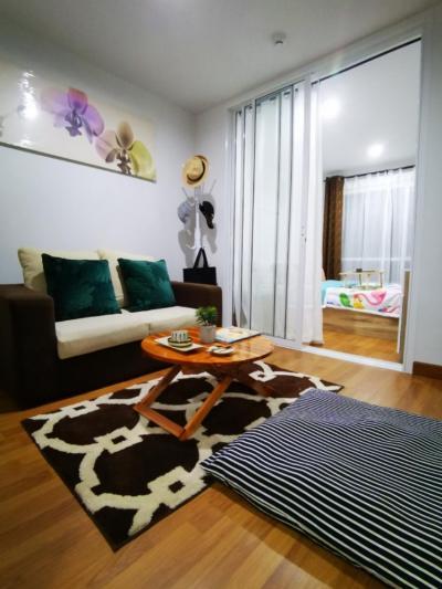 For RentCondoOnnut, Udomsuk : M2932-Condo for rent: Regent Home Sukhumvit 81 + washing machine ready to move in.