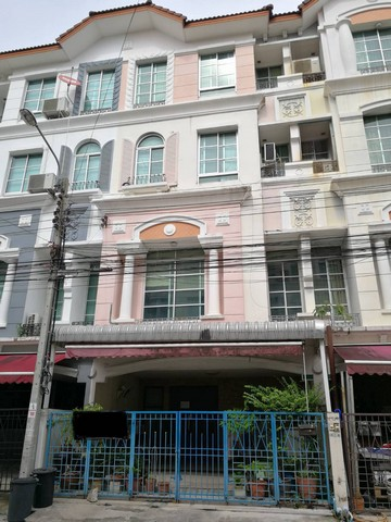 For SaleHome OfficeYothinpattana,CDC : AE0338 4-storey home office for sale, Baan Klang Muang, Rama 9 - Ladprao, next to Ramindra expressway.