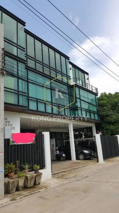 เช่าโรงงานลาดพร้าว101 แฮปปี้แลนด์ : ให้เช่า โรงงาน /สำนนักงาน 3 ชั้นพร้อมโกดังขนาดใหญ่ เขต บางกะปิ กรุงเทพ Factory / office for rent, 3 floors with large warehouse, Bangkapi district, Bangkok