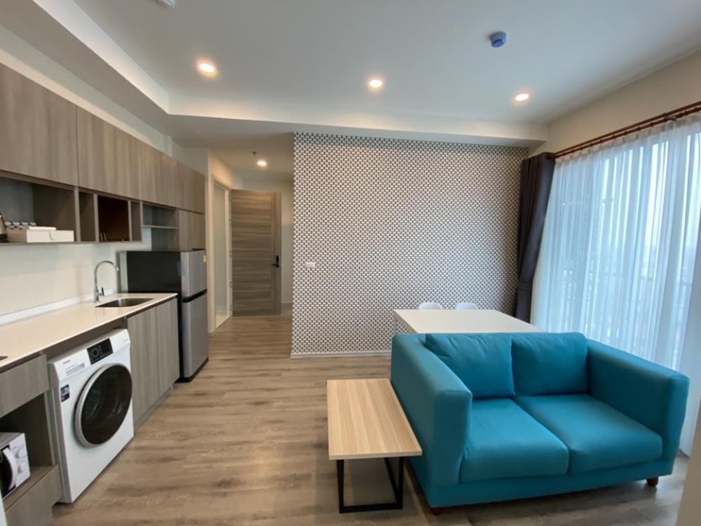 For RentCondoRamkhamhaeng, Hua Mak : ⭕️ For rent, corner room (2 bedrooms), Knightsbridge College Ramkhamhaeng, beautiful room, more divine view 💥