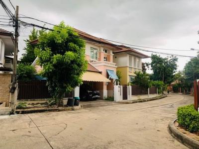 For RentHouseNawamin, Ramindra : RH424 4 bedroom house for rent, Living Lagoon, Phraya Suren 39, Ramintra 109.