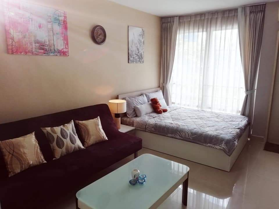 For RentCondoRama9, RCA, Petchaburi : [A209] 🔥🔥🔥 ** Release only 7,500 baht for rent I-HOUSE Laguna Garden Condo (I-HOUSE LAGUNA GARDEN RCA) size 26 sqm. Building C, 2nd floor, near MRT Rama 9 station, only 5 Minutes 🔥🔥🔥