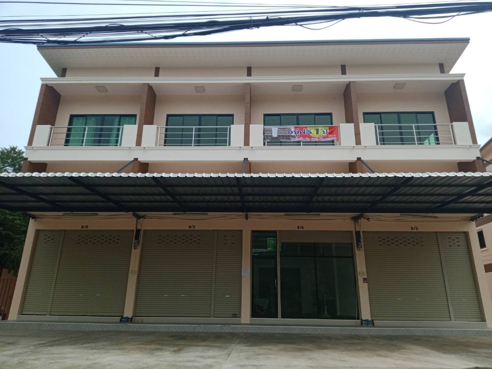 For SaleShophouseSaraburi : Selling a 2-storey commercial building free of charge
