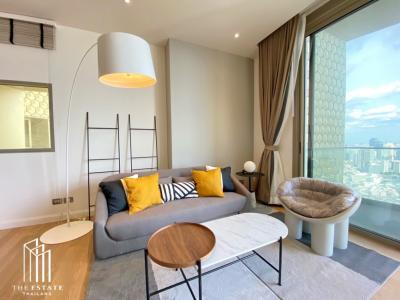 เช่าคอนโดวงเวียนใหญ่ เจริญนคร : Condo for RENT *Magnolias Waterfront Residences ICONSIAM ห้องชั้น 50 ห้องมุม ทิศใต้ วิวมหานคร @88,000 Baht
