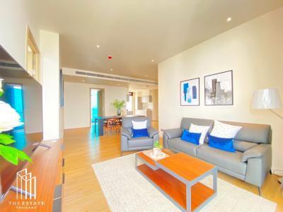 เช่าคอนโดวงเวียนใหญ่ เจริญนคร : ห้องชั้น 50 ห้องมุม ทิศใต้ สุดยอดวิวมหานคร For RENT *Magnolias Waterfront Residences ICONSIAM @180,000 Baht
