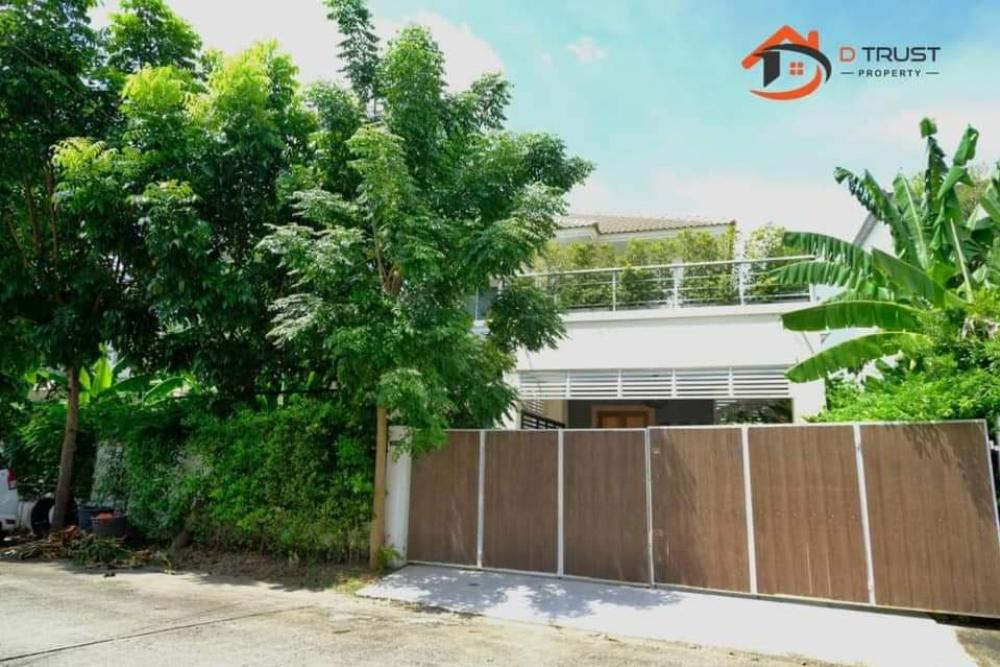 For SaleHouseRamkhamhaeng, Hua Mak : House for sale 56 square wah, Lanceo Ramkhamhaeng - Ring Road Dress up style resort With private swimming pool Near the ring expressway