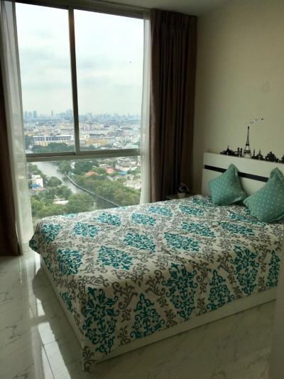 For RentCondoRamkhamhaeng, Hua Mak : Condo for rent, Chewathai Ramkhamhaeng, beautiful room, very cheap