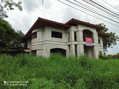 For SaleHouseSamrong, Samut Prakan : ขายถูก มบ กรีนวัลเลย์  ที่ดินแปลงใหญ่ แถมบ้านดิบหลังใหญ่ 1 หลัง ที่ดินขนาด 478ตรว
