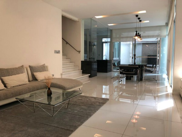 For RentTownhouseKasetsart, Ratchayothin : 3 storey townhome for rent, The Landmark Residence, Ladprao
