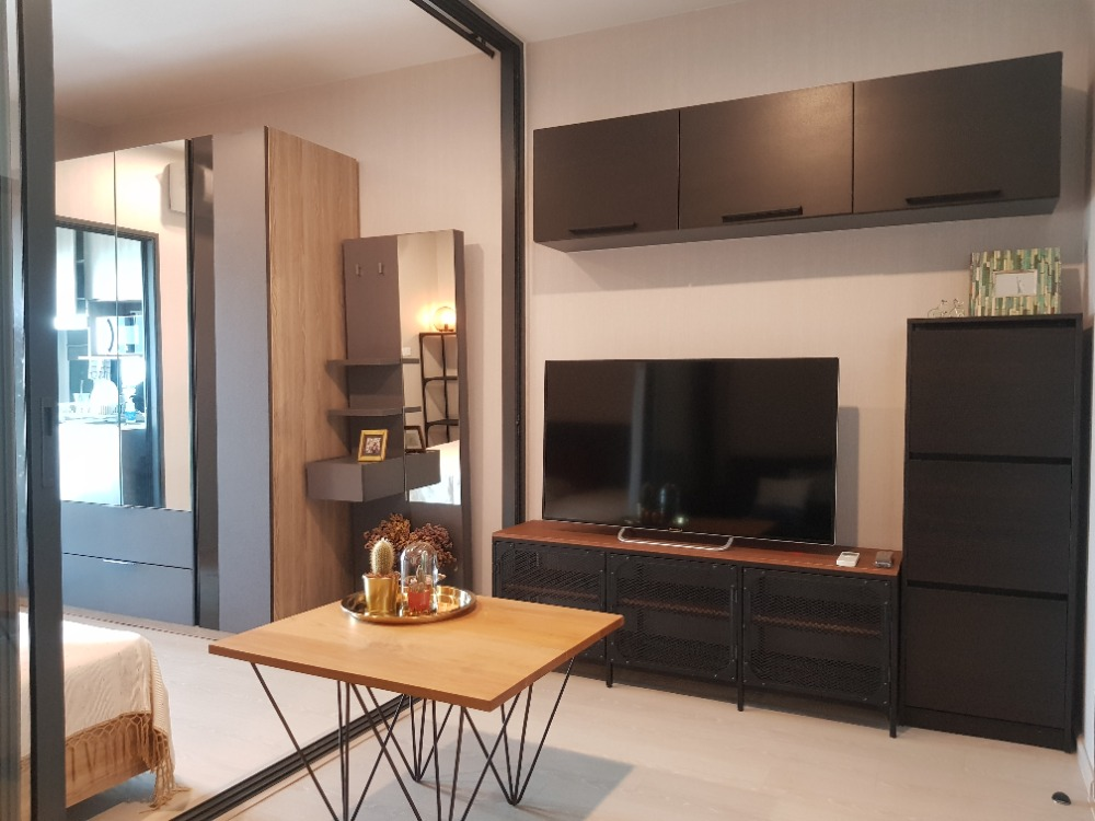 For RentCondoThaphra, Wutthakat : SN098 Brand new condominium for rent, IDEO Tha Phra Interchange, beautiful room, attractive price.