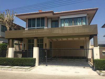 For SaleHouseBangna, Lasalle, Bearing : House for sale Setthasiri Bangna-Ring Road