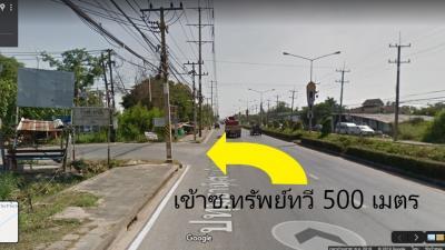 For SaleLandRangsit, Patumtani : Land for sale in Pathum Thani, Soi Supthawee Sam Khok - Pathum Thani.