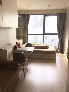 For RentCondoSiam Paragon ,Chulalongkorn,Samyan : Condo for rent, IDEO Q Chula-Samyan, 24 sqm., High floor, open view, beautiful decoration, grade A furniture, ready to move in