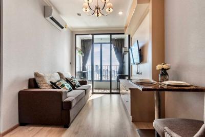 For SaleCondoSiam Paragon ,Chulalongkorn,Samyan : Condo Ideo Q Chula-Samyan @MRT Sam Yan, 35 sq.m 1Bed 36th floor Nice View, Built in Fully furnished