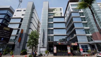 ขายสำนักงานแจ้งวัฒนะ เมืองทอง : ขายตึกสำนักงาน 8 ชั้น ต่ำกว่าตลาด 20% มีพื้นที่ใช้สอย ที่จอดรถพร้อม บอนด์สตรีท เมืองทองธานี