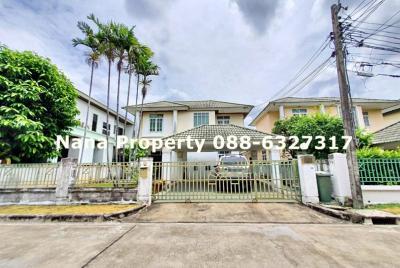 For RentHouseChengwatana, Muangthong : 2 storey detached house for rent, on Prachachuen Road, near Sport City