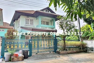For RentHouseChengwatana, Muangthong : 2 storey detached house for rent, Chaengwattana Road, near Central Chaengwattana.