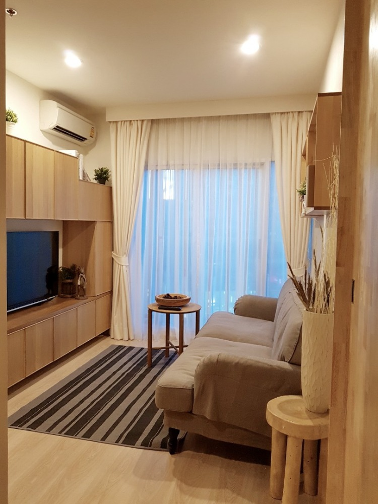 For SaleCondoRatchadapisek, Huaikwang, Suttisan : Beautiful room for sale, Noble Revolve Ratchada Condo, good location in the heart of Ratchada Road, 2 bedrooms, 2 bathrooms, 10th floor (S1506)