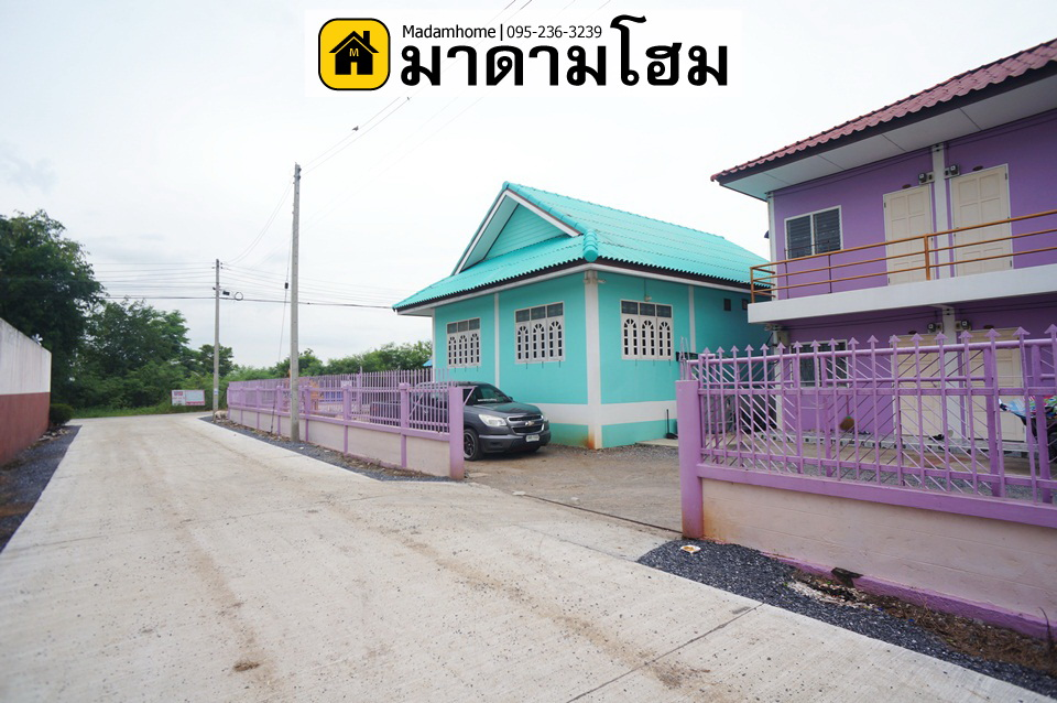 For SaleBusinesses for saleCentral Provinces : Ayutthaya Dormitory for Sale With a single house Near Rojana Industrial Estate, Ayutthaya Second hand house Ayutthaya Madam home