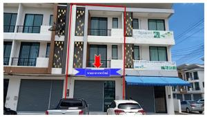 For SaleShophousePattaya, Bangsaen, Chonburi : Urgent sale, commercial building, 3 floors, D Town Grow (D Town Grow), Sriracha Tiger Zoo, Chonburi, price 5.29 million baht only.