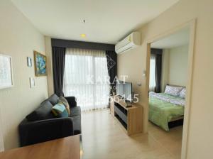 For RentCondoRama9, RCA, Petchaburi : Rhythm Asoke 2 for rent 30 sqm Fl. 23 Beautiful decor 11,000 THB fully furnished View K.Bee 064146-6445 (R686)