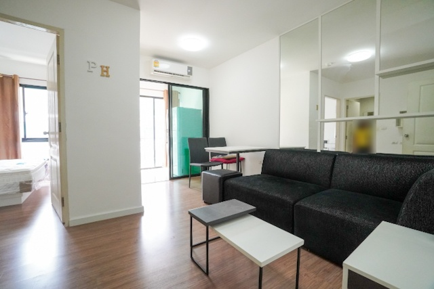 For SaleCondoBangna, Lasalle, Bearing : Condo for sale: iCondo Sukhumvit 105, A2 building, 7th floor, garden view, 29 sqm.