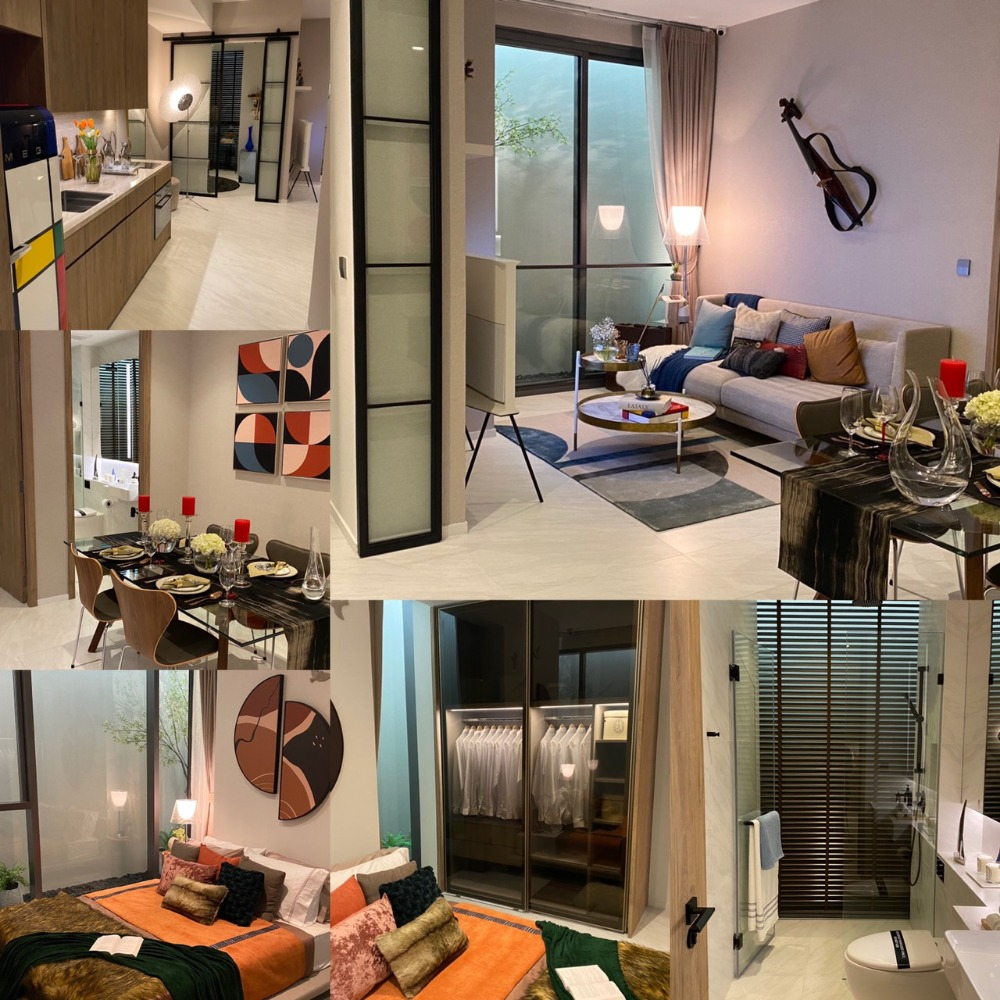Sale DownCondoRatchathewi,Phayathai : Cheapest down payment The owner sells themselves on the 29th floor, 2 BR.