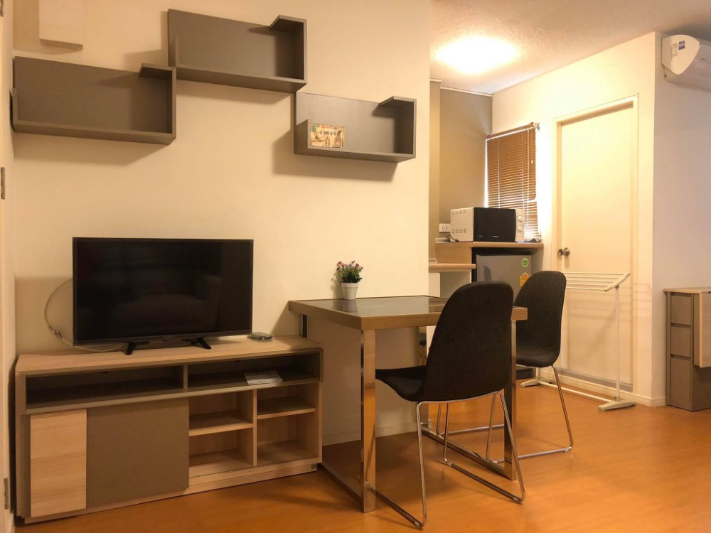 For SaleCondoLadkrabang, Suwannaphum Airport : Sale owner, LPN Romklao-Suvarnabhumi, 23 sq m., Tik A3, beautiful room, fully furnished + electrical appliances Ready to move in, 1.25 million