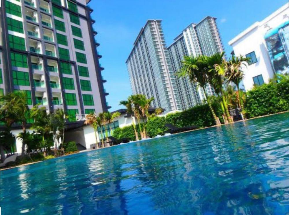 For SaleCondoChonburi, Pattaya, Bangsa : New condo for sale, Dusit Grand Condo View Pattaya near Jomtien Beach