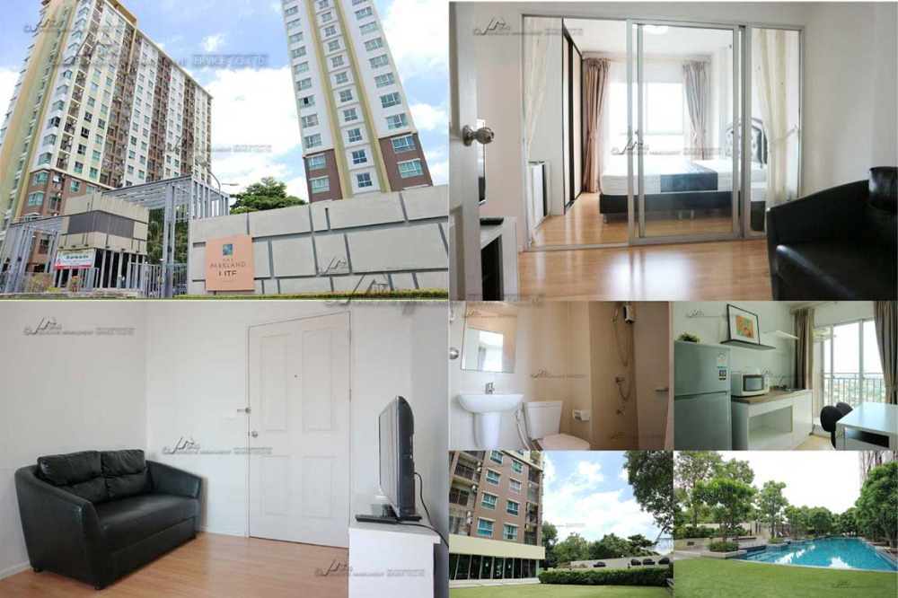 For RentCondoSamrong, Samut Prakan : Condo for rent The Parkland Lite Sukhumvit - Paknam Building A 11th Floor Rental 6,500 baht / month