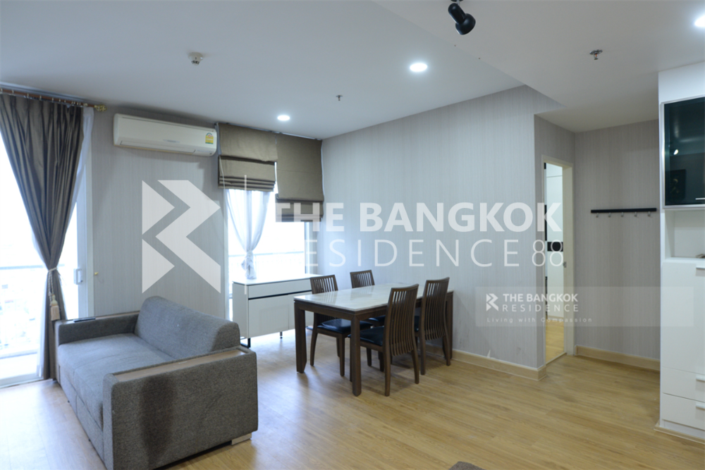 For SaleCondoRatchathewi,Phayathai : Urgent sale, Villa Rachatewi, 2 bedrooms, 2 bathrooms (The cheapest price in the building)