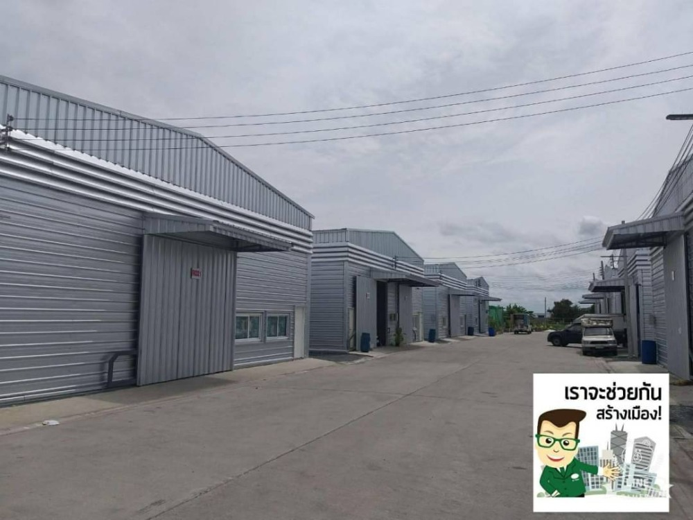 For RentWarehouseSamrong, Samut Prakan : Warehouse for rent