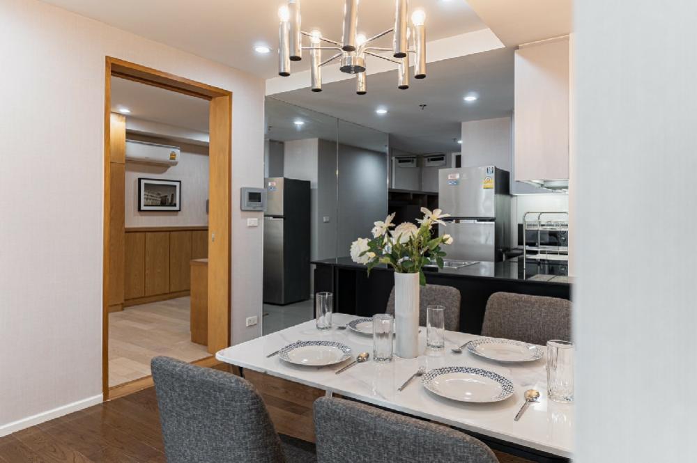 For RentCondoNana, North Nana,Sukhumvit13, Soi Nana : For rent Condo 15 ResidenceSukhumvit15 ฺ BTS NANA 3BR. 139sq.m. newly renovated