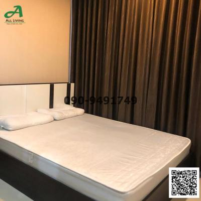 For RentCondoOnnut, Udomsuk : Condo for rent The Sky Sukhumvit, beautiful room, cheap price, BTS Udom Suk
