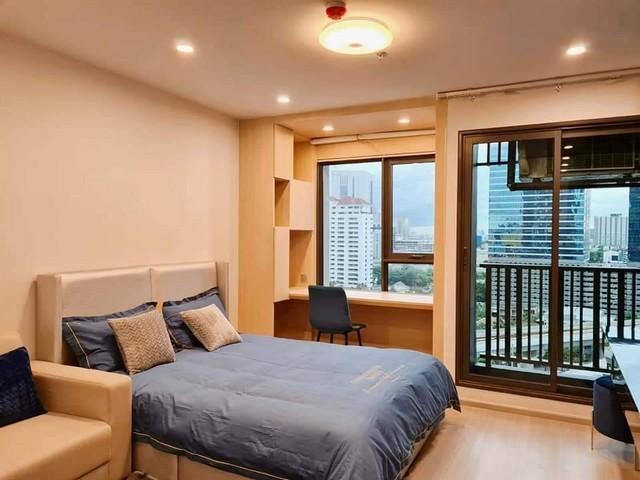 For RentCondoLadprao, Central Ladprao : AE0347 Condo for rent, Life Ladprao, Studio room, 26.76 sq m, 15th floor, Building A, beautiful view, no building block.