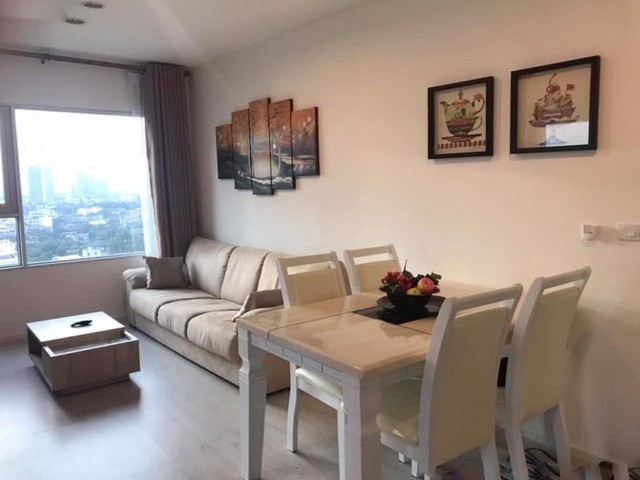 For SaleCondoThaphra, Wutthakat : MN273 - For rent, Aspire Sathorn-Thapra, Condo next to BTS Talat Phlu (2Br.) 18th floor.
