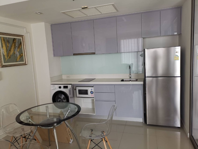 For RentCondoRama3 (Riverside),Satupadit : For rent: Star View Condo, 2 bedrooms, 77 square meters, high floor, beautiful view.