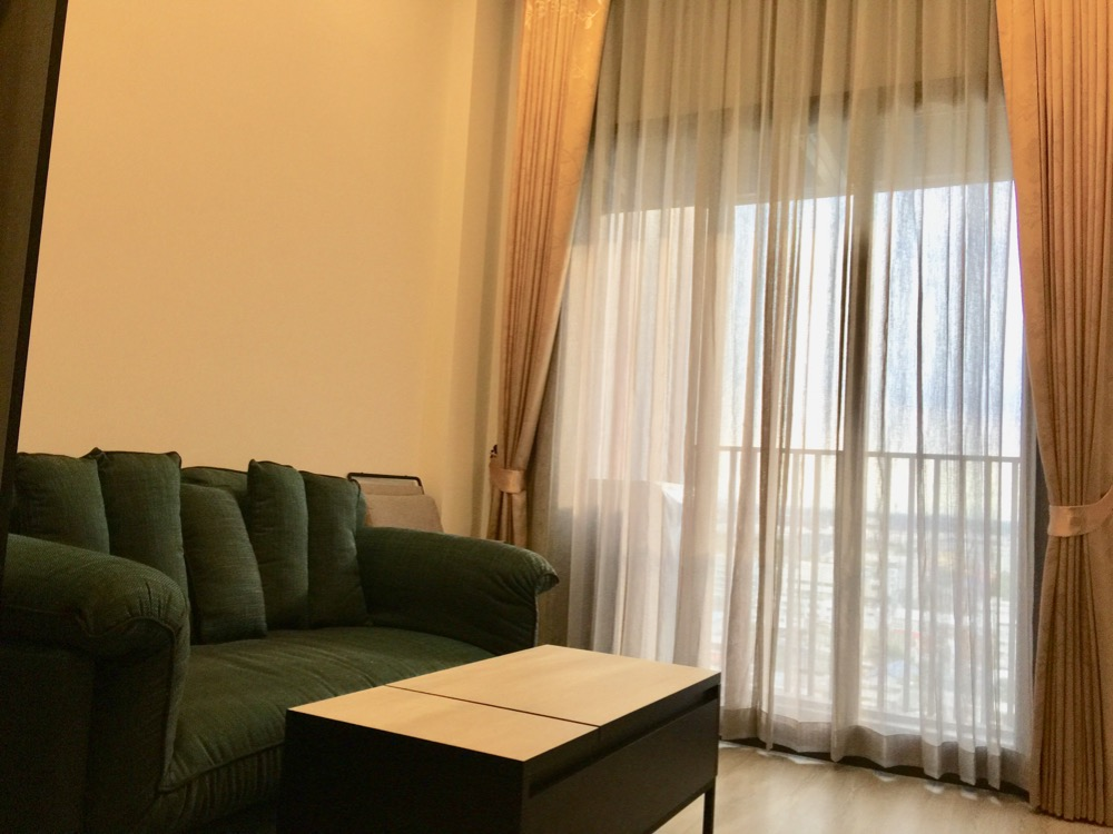 For RentCondoOnnut, Udomsuk : For rent, THE LINE Sukhumvit 101, BTS Punnawithi, beautiful room, airy, comfortable, with a wider view with ultra-high ceilings. Freedom in more space.