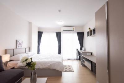 เช่าคอนโดพระราม 9 เพชรบุรีตัดใหม่ : ให้เช่า คอนโด Supalai Veranda Rama9 ห้อง 30 ตรม ชั้น 16 วิวเมือง