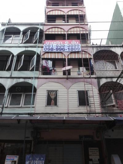 For SaleShophouseRamkhamhaeng, Hua Mak : Commercial building for sale (female dormitory: golden material), 6 floors, 1 booth, Soi Ramkhamhaeng 37 / 1-39 opposite Ramkhamhaeng University