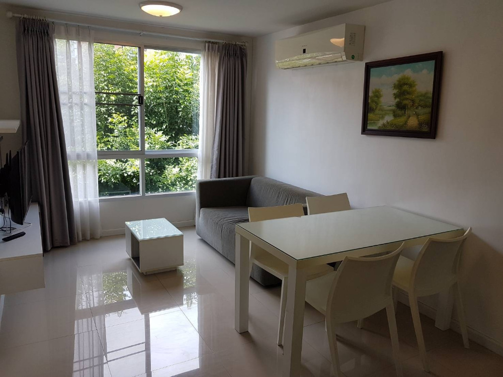 For RentCondoChiang Mai, Chiang Rai : Urgent for rent !! D Vieng Condo, big room, pool view !! With furniture and complete electrical appliances