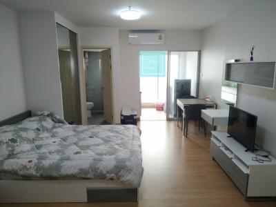 For RentCondoChengwatana, Muangthong : For rent Supalai City Resort Chaengwattana, 11th floor, size 34 sq m, price 8,000 baht / month