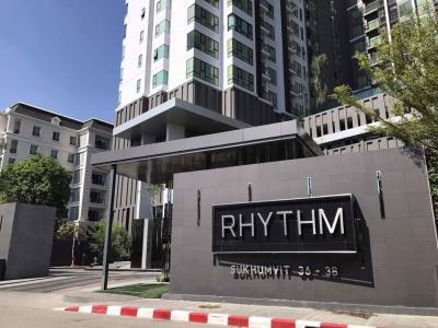 ขายคอนโดสุขุมวิท อโศก ทองหล่อ : ขายด่วนมากราคาต่ำกว่าตลาด Rhythm 3638 1 Bedroom Low Floor