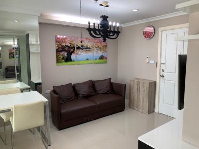 For RentCondoRama9, Petchburi, RCA : Fully furnished condo For Rent / Sale **Lumpini Place Rama9 – Ratchada Next to MRT Rama9 *** -37sq.m., 6th floor