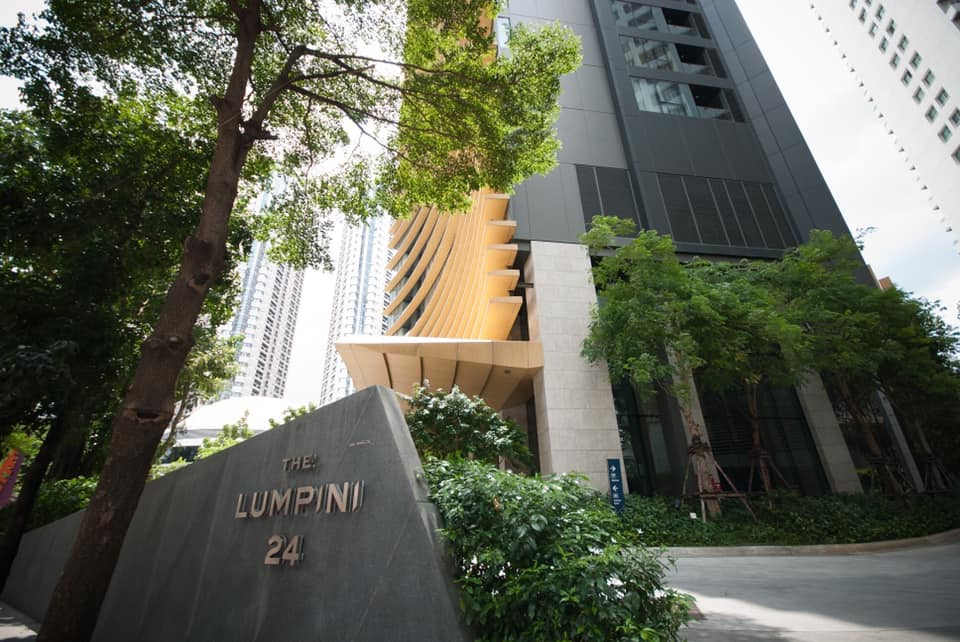 For RentCondoSukhumvit, Asoke, Thonglor : Rent 1 bedroom room, cheapest in The Lumpini 24 project, only 15,900 baht